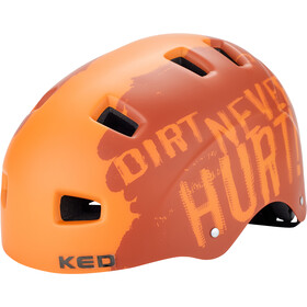 KED 5Forty Fietshelm Kinderen, dirt orange